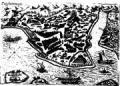 Vue de Constantinople par Henri de Beauveau